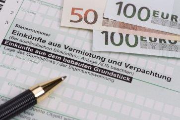 Mieteinnahmen Steuer