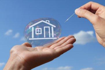 Risiko Platzen Immobilienblase